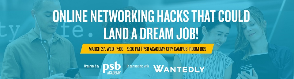 ONLINE NETWORKING HACKS THAT COULD LAND A DREAM JOB Banner Image