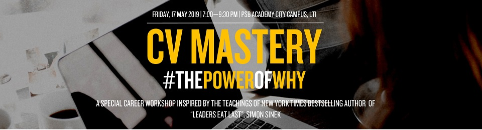 CV Mastery #ThePowerOfWhy Banner Image