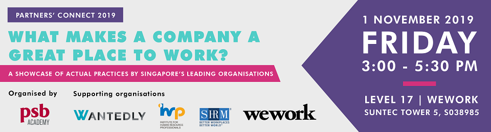 Partners' Connect 2019: What Makes a Company a Great Place to Work? Banner Image