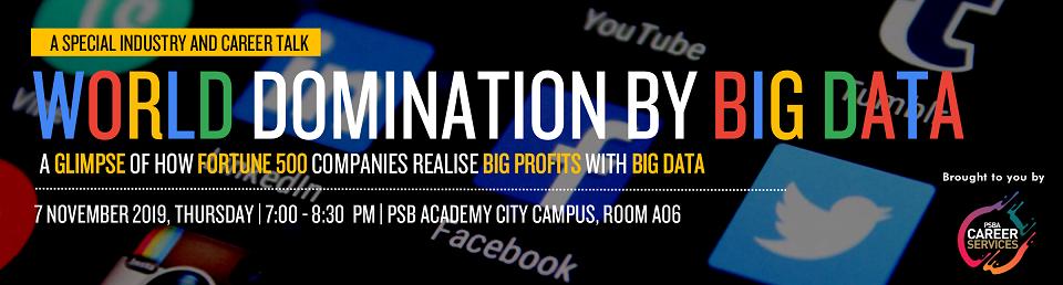 World Domination by Big Data Banner Image