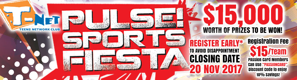 PULSE! Sports Fiesta 2017 Banner Image