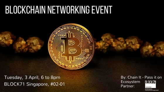 Chain It - A Crowdsourced Blockchain Networking Event Banner Image