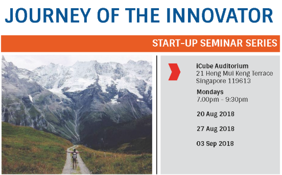 Journey of the Innovator: Startup pitching 1-2-3!