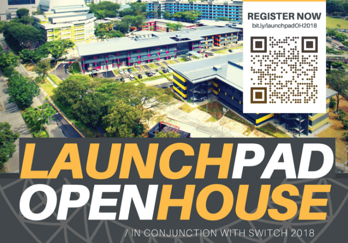 LaunchPad Open House 2018 (in conjunction with SWITCH 2018)