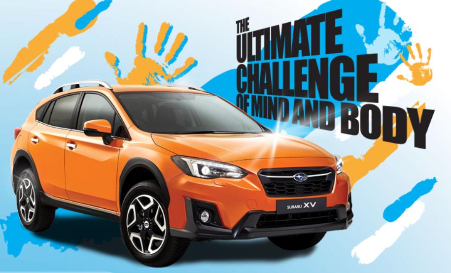Mediacorp Subaru Car Challenge 2018