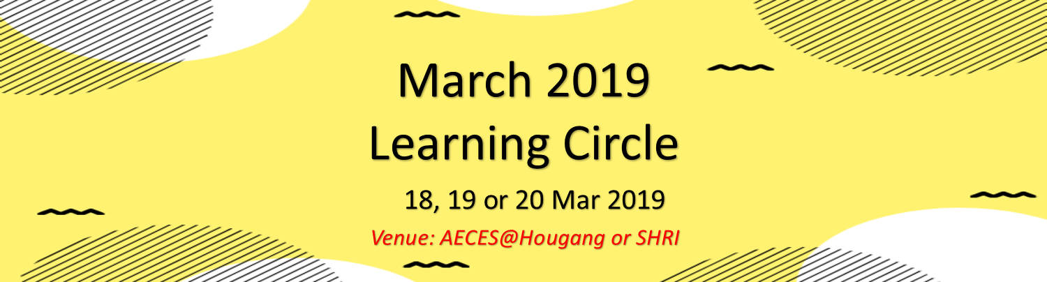 March 2019 Learning Circle Banner Image