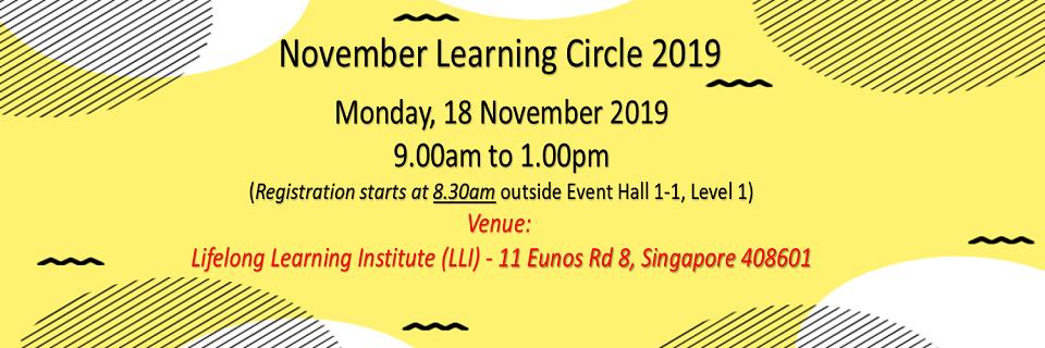 November 2019 Learning Circle Banner Image
