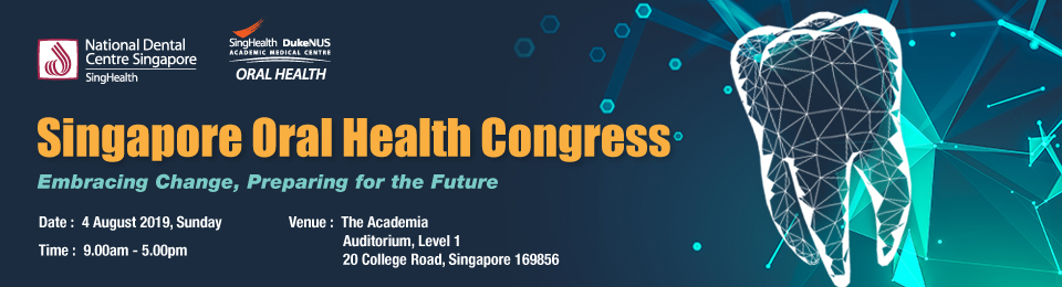 Singapore Oral Health Congress Banner Image