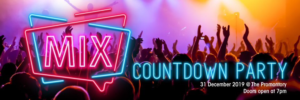 MIX Countdown Party Banner Image