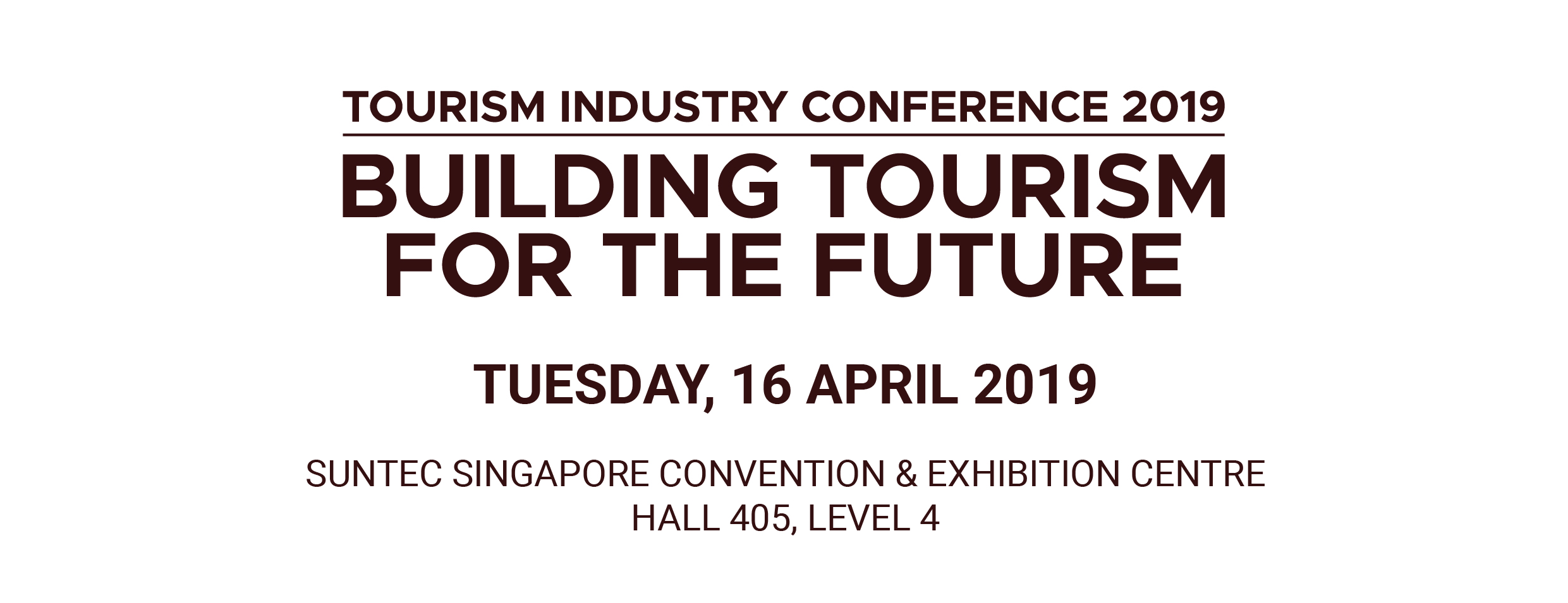 Tourism Industry Conference 2019 Registration, Singapore - EventNook