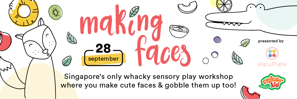 Food Sensory Play - Making Faces Banner Image
