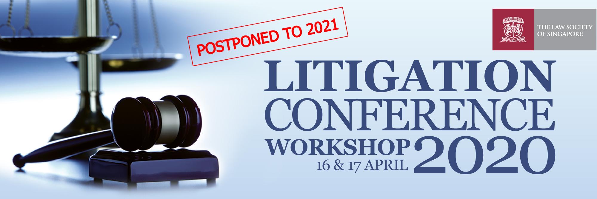 Litigation Conference Workshop 2020 Banner Image