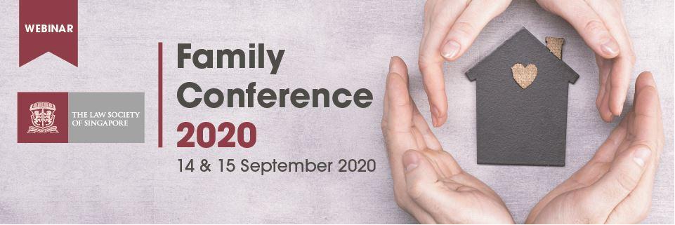 [WEBINAR] Family Conference 2020 Banner Image