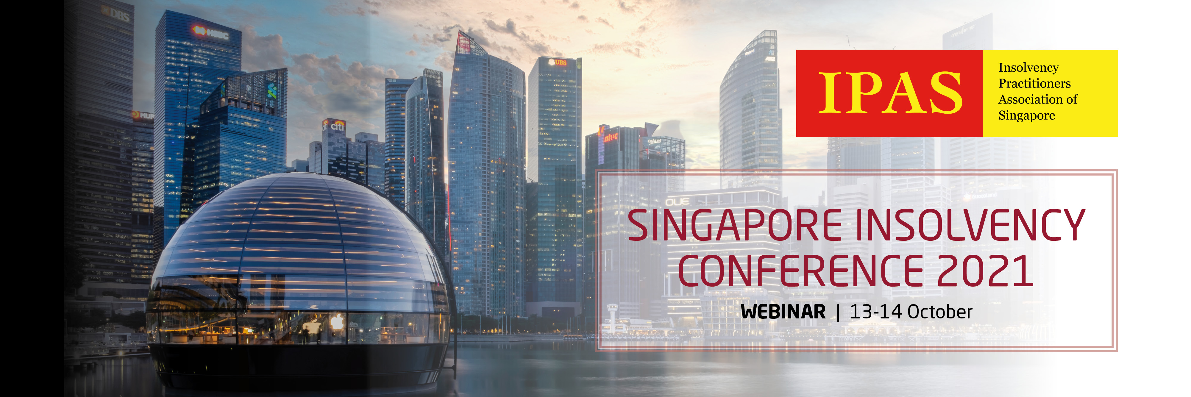 [Webinar] Singapore Insolvency Conference 2021 Banner Image