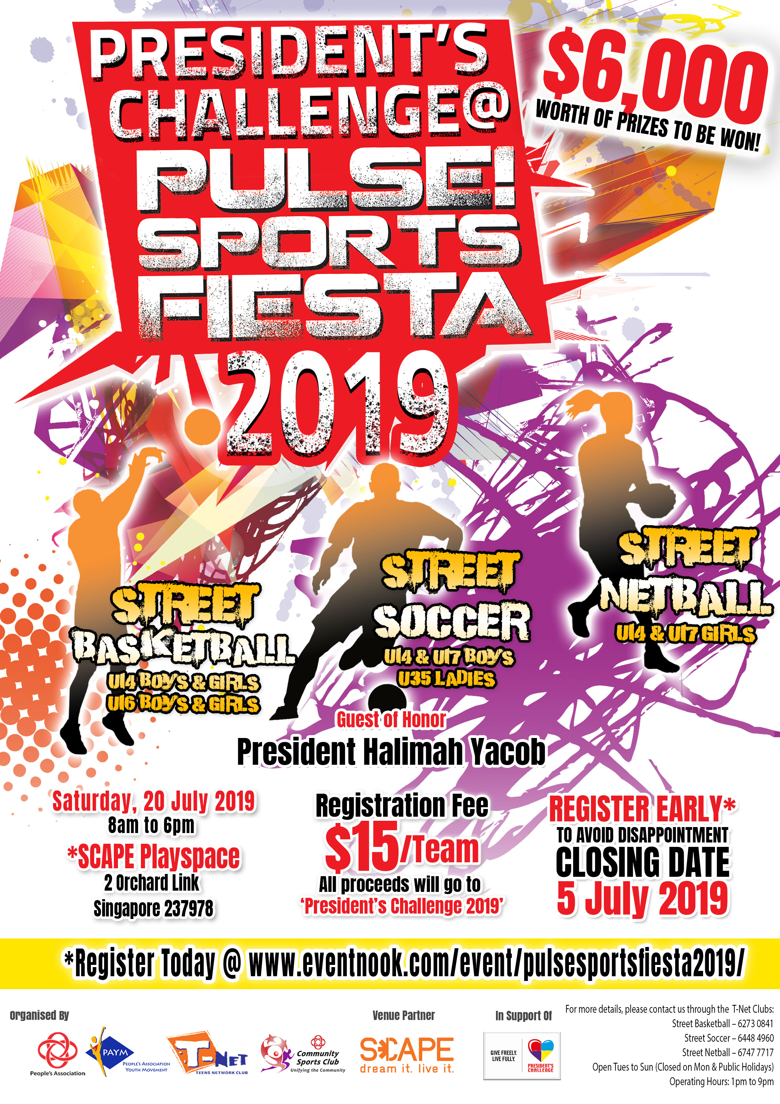 PRESIDENT'S CHALLENGE 2019 @ PULSE! SPORTS FIESTA 2019