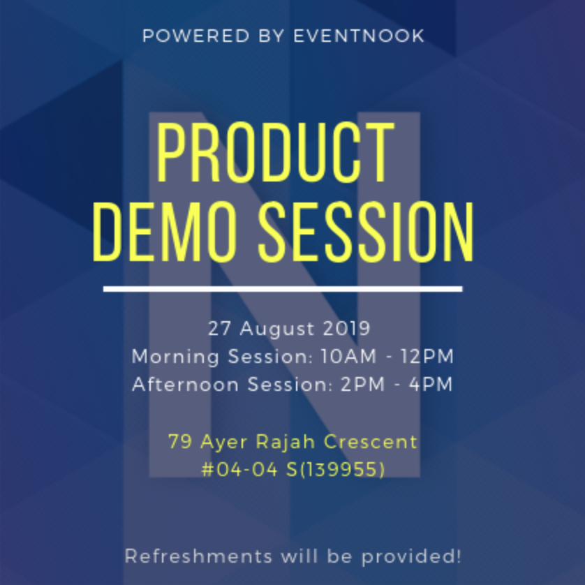 EventNook Product Demo Session