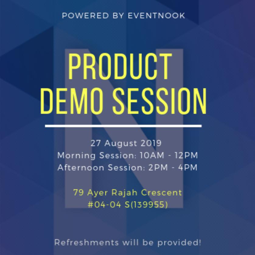 EventNook Product Demo Session