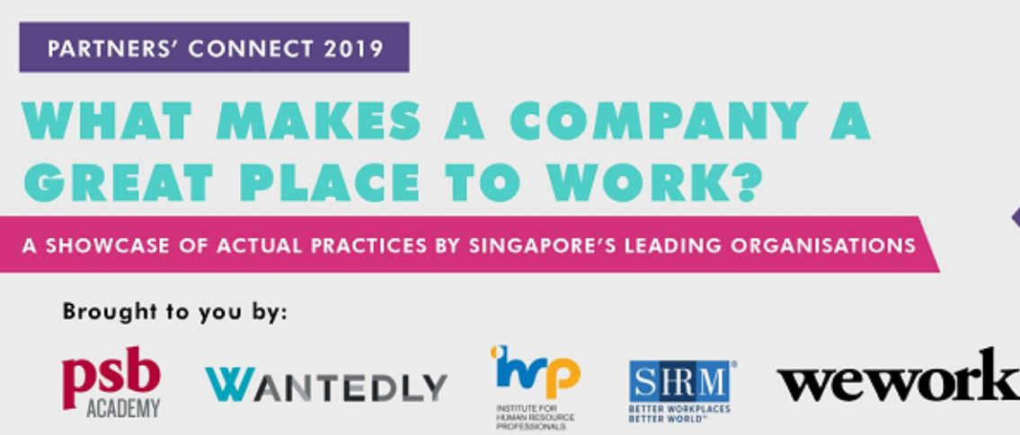 Partners' Connect 2019: What Makes a Company a Great Place to Work?