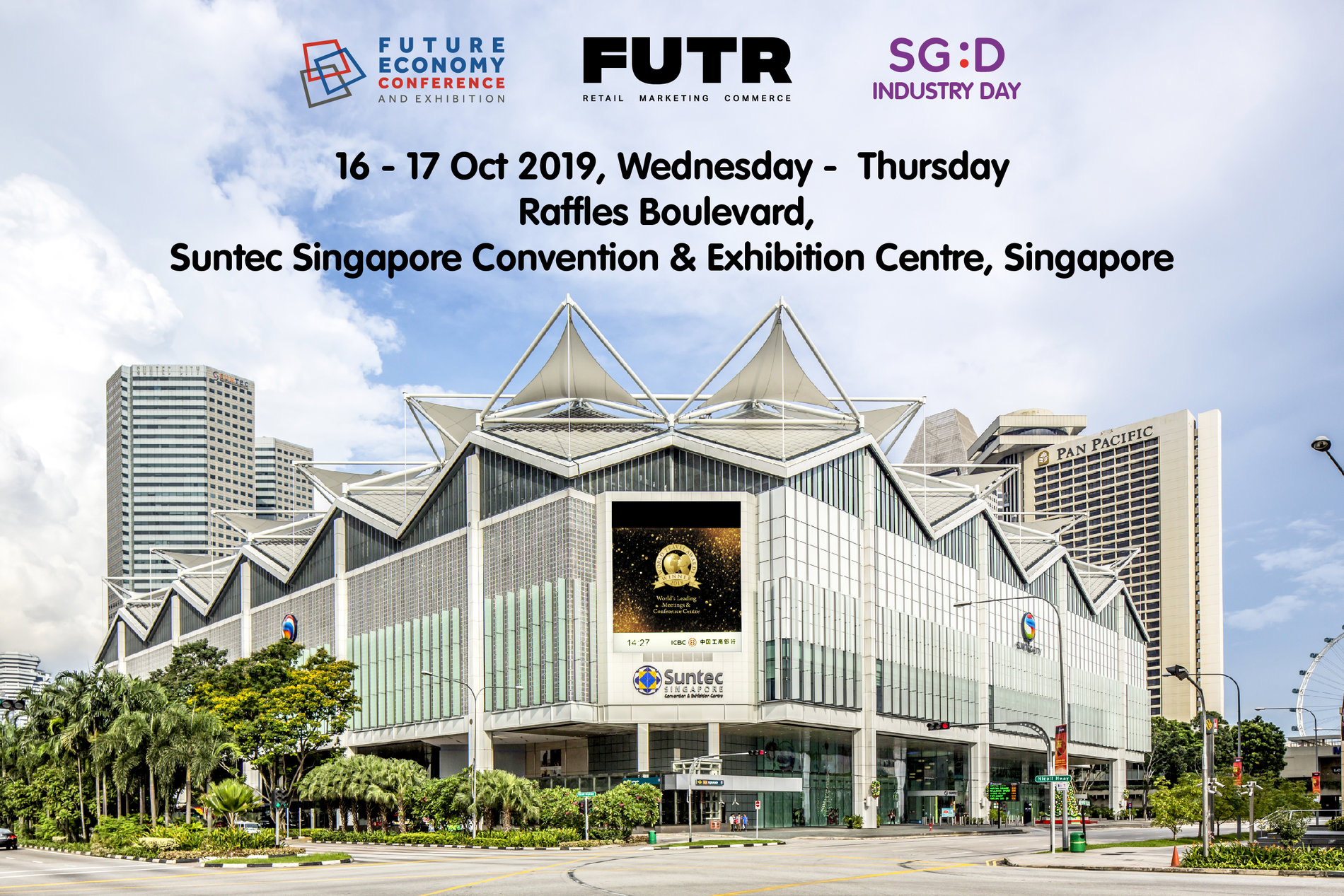 Future Economy Conference and Exhibition | SG:D Industry Day | FUTR 2019 Registration Banner Image