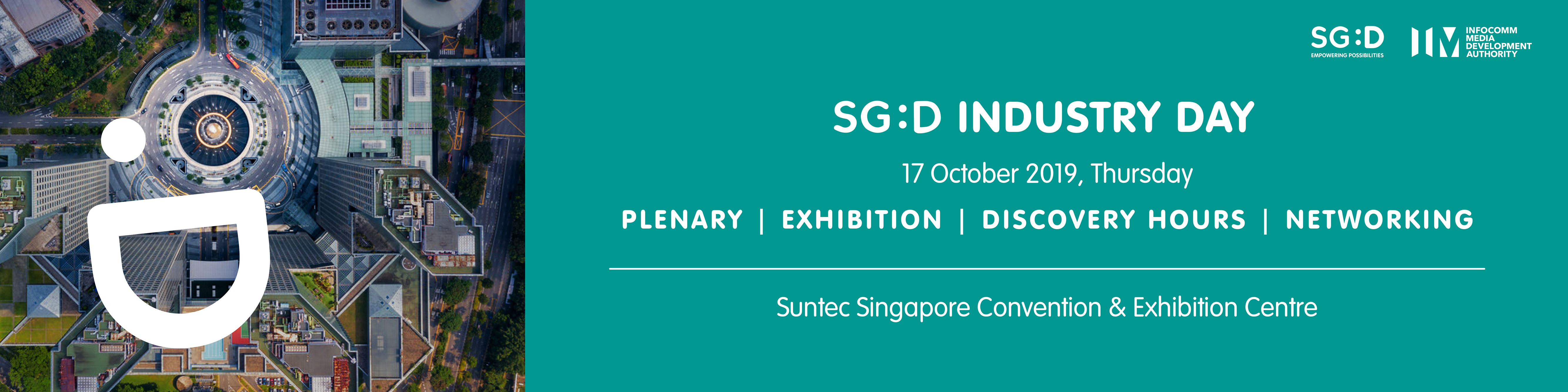 SG:D Industry Day 2019 Banner Image
