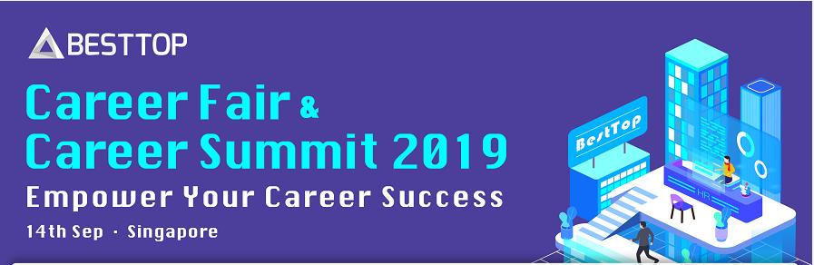 Career Fair and Career Summit Singapore 2019 Banner Image