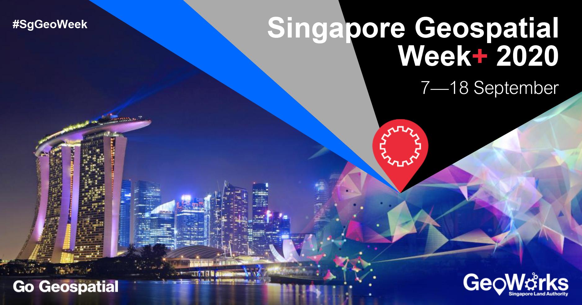 Singapore Geospatial Week + 2020 Banner Image