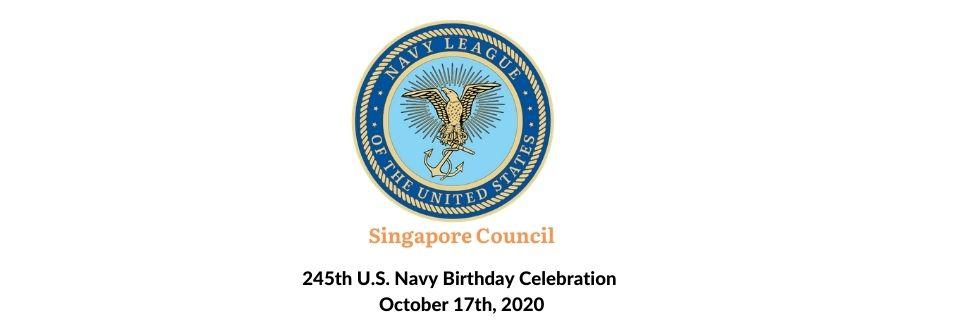 245th U.S. Navy Birthday Celebration Banner Image
