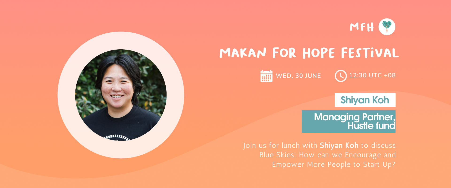 Shiyan Koh - Blue Skies: How can We Encourage and Empower More People to Start Up? Banner Image