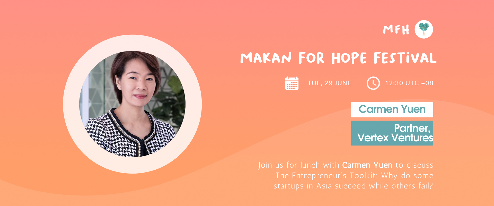 Carmen Yuen - The Entrepreneur's Toolkit: Why do Some Startups in Asia Succeed while Others Fail? Banner Image