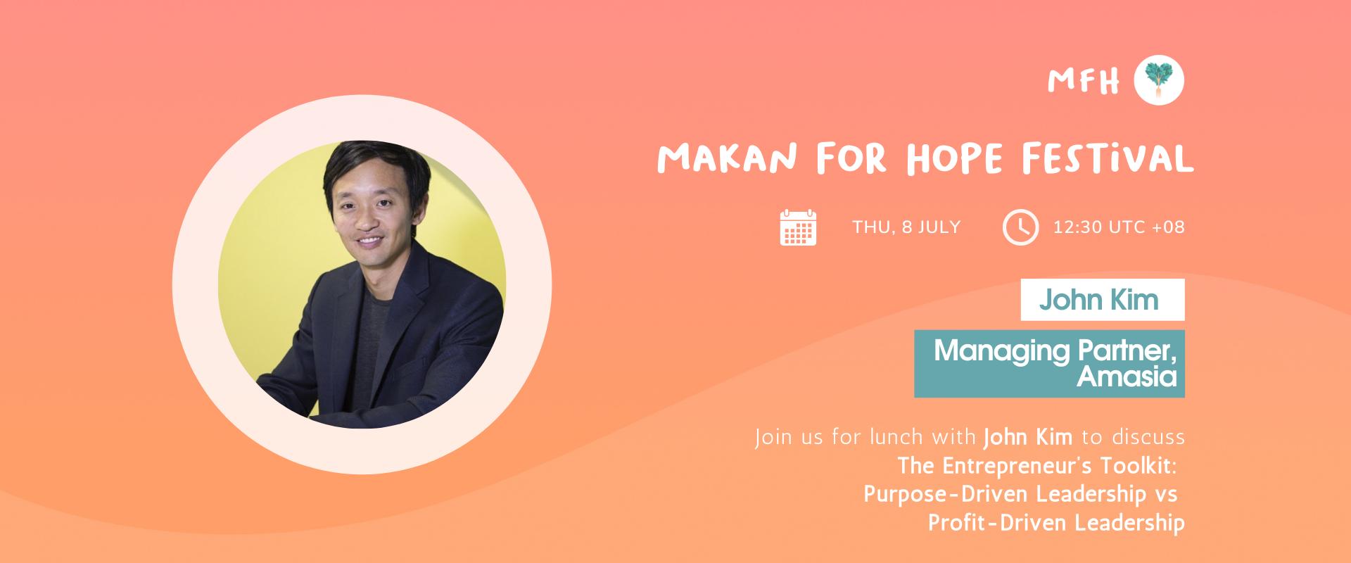 John Kim - The Entrepreneur's Toolkit: Purpose-driven Leadership in Startups
