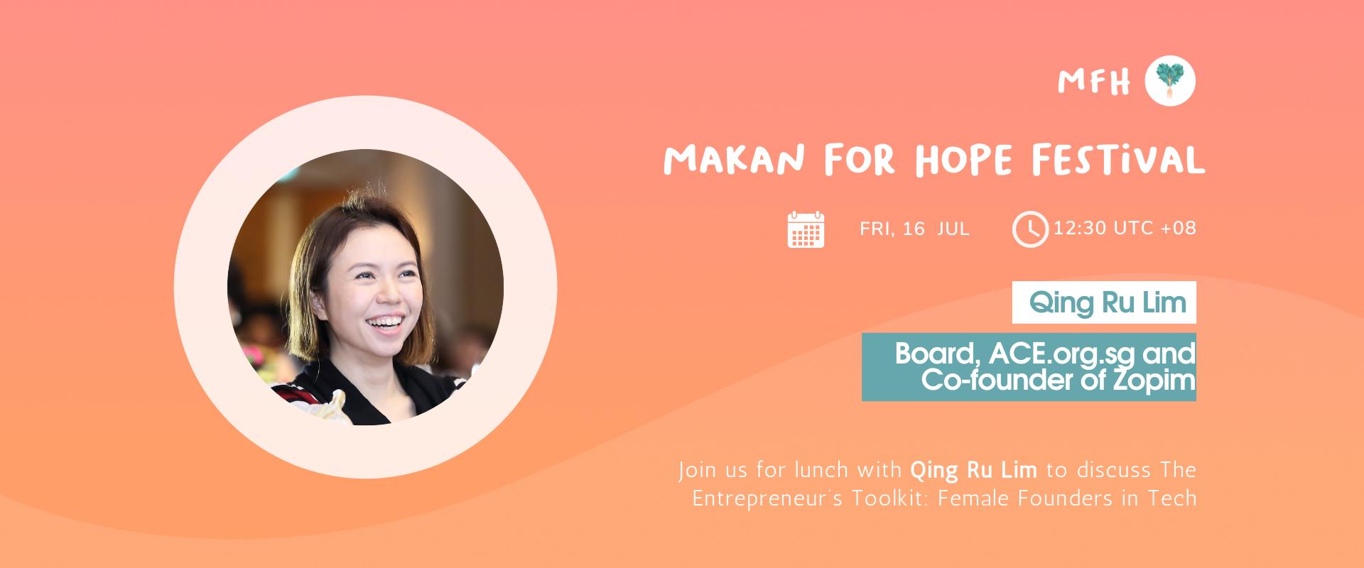 Qing Ru Lim - The Entrepreneur's Toolkit: Female Founders in Tech