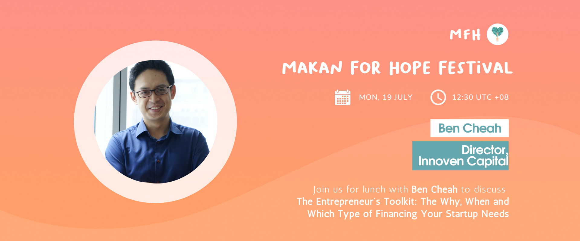 Ben Cheah - The Entrepreneur's Toolkit: The Why, When and Which Type of Financing Your Startup Needs
